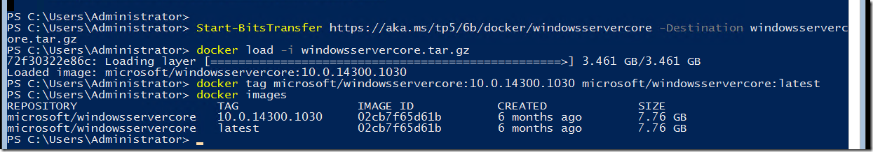 WINDOWS CONTAINERS – 'Install-ContainerOSImage' is not recognized as
